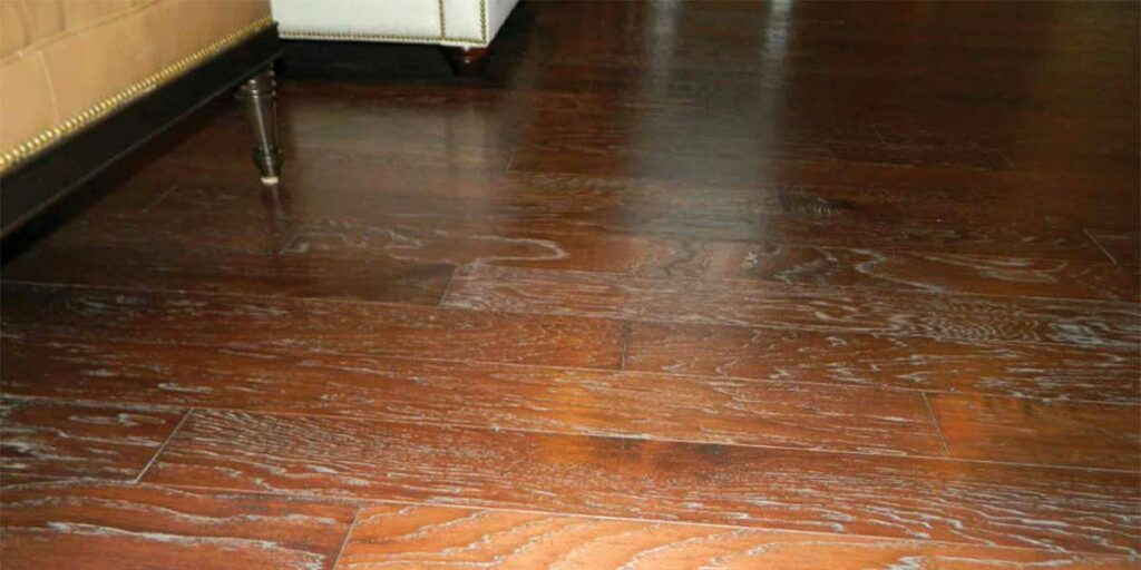 Getting rid of residue on your wood floorings
