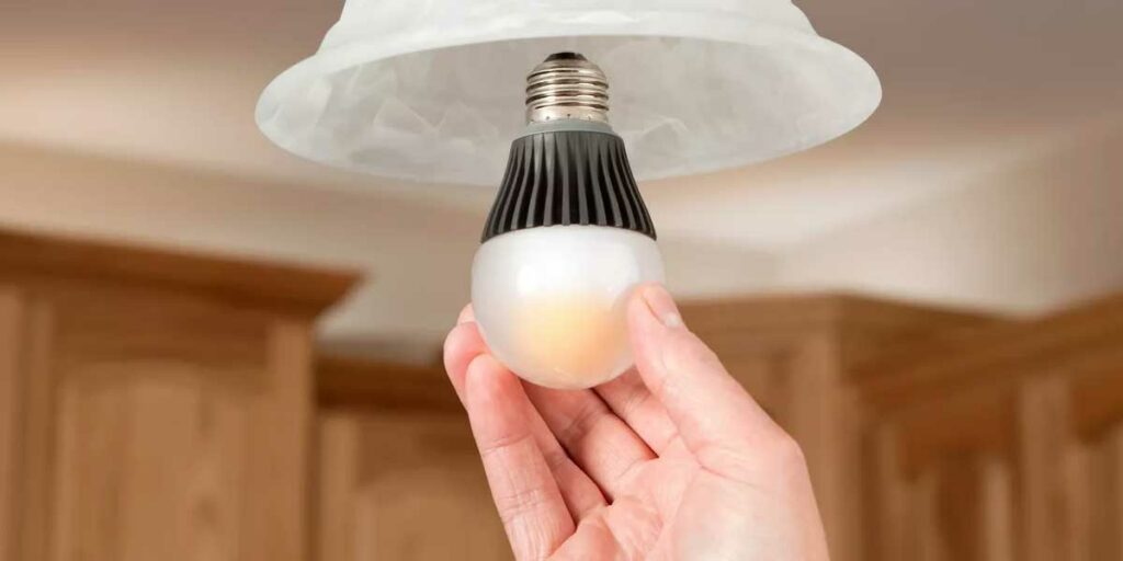 Install the Smart Bulbs into the lighting fixtures
